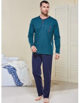 Cepli Pijama Takımı