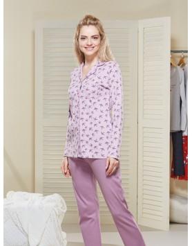 Düğmeli Pijama Takım I