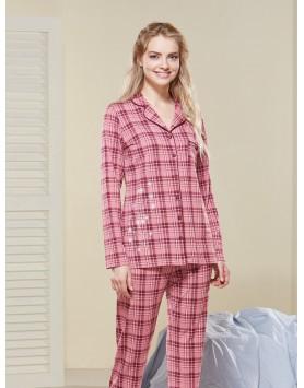 Düğmeli Pijama Takım III