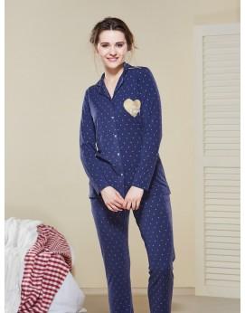 Düğmeli Pijama Takımı III